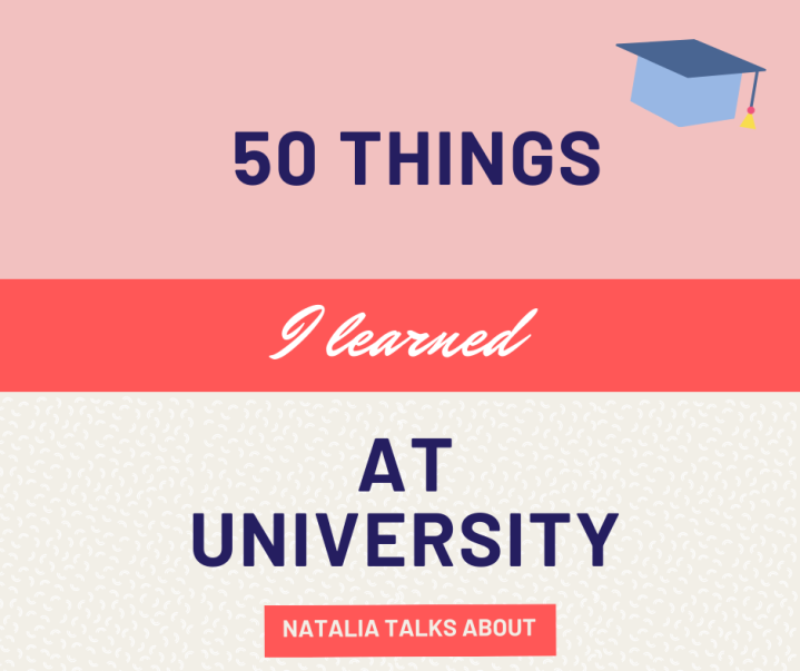 50 Things I Learned At University