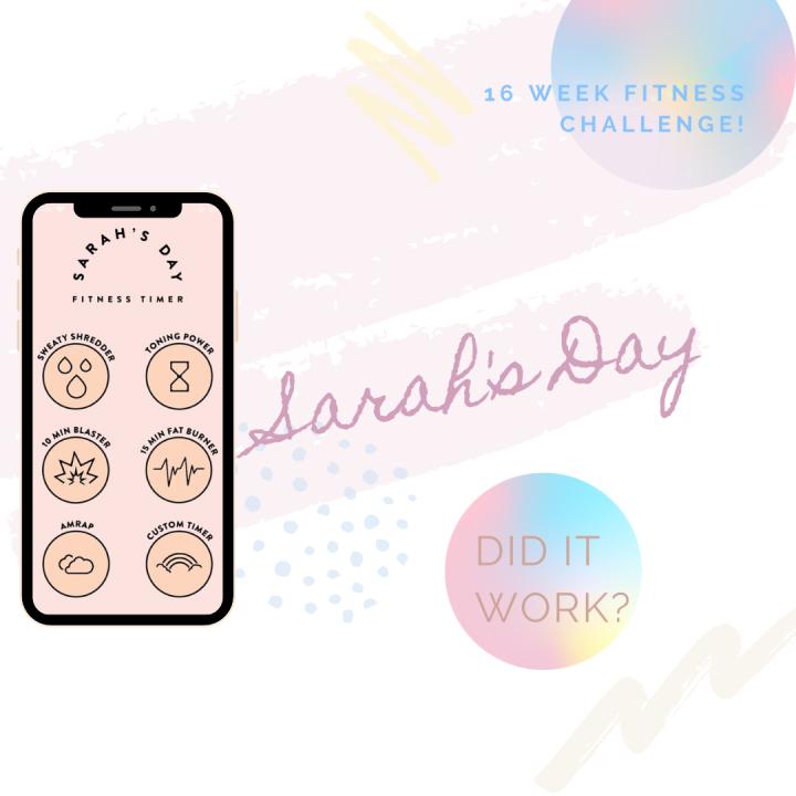 Sarah's Day Fitness E-Books |Review