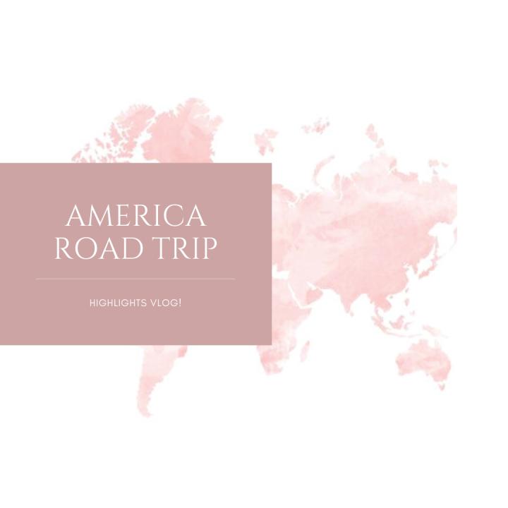 6 Week America Road Trip in 3Minutes!